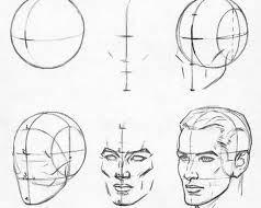 Как научится рисовать лицо человека карандашом поэтапно