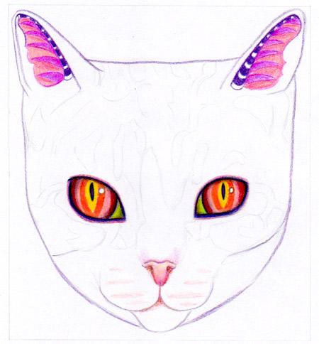 Как рисовать кота - 11