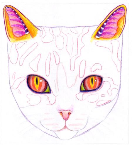 Как рисовать кота - 12