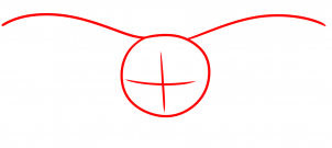 Как нарисовать череп Moth