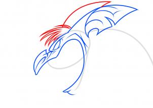Как нарисовать летучую мышь - мутанта шаг за шагом