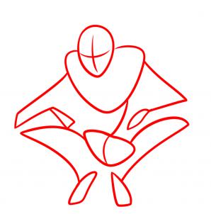 Как нарисовать монстра поэтапно карандашом